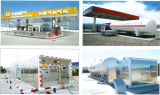 Benzinestation van het LNG van de hoge druk het Mobiele steunbalk-Opgezette