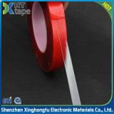 Film transparent rouge acrylique double face Ruban adhésif VHB