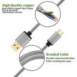 Cavo Micro-USB, micro un maschio al micro tipo C del USB per l'incarico e dati Tansfer del materiale ad alta velocità e durevole