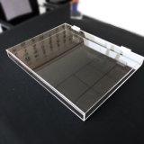 OEM 투명한 명확한 실크 인쇄 플라스틱 유리 사탕 궤