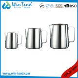 GroßhandelsEdelstahl-Cappuccino-Sahne-Kaffee-Milch-Krug mit Schuppe