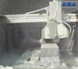 Bloque de piedra de corte automático de desecho de equipo para el monumento de granito