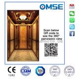 Rose Gold gravado do espelho do elevador de passageiro