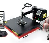 8 dans 1 machine d'impression combinée multifonctionnelle de transfert de presse de la chaleur