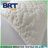 Funda de almohada impermeable blanca de la sensación del copo de nieve/del telar jacquar de la nieve de la capa fresca Shaped del aire