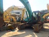 기계 사용한 건축기계 유압 장비 무거운 35 톤은 파는 사람 Kobelco Sk350 크롤러 굴착기를 추적했다
