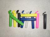 Tubo común plástico de los PP para la medicina de las píldoras que empaqueta el frasco plástico de la píldora