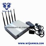 5 de Stoorzender van het Signaal van Cellphone WiFi van de band met Verre Antennes Control+Omnidirectional