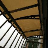 Baldacchino di plastica di vendita di fabbrica del policarbonato esterno caldo di prezzi DIY con la barra della Metà di-Riparazione
