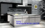 Gabinete impermeável de madeira novo de 2017 Foshan Zhihua das cozinhas