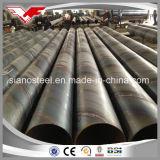 Kohlenstoffstahl-Rohr, DES API-5L Standard Grad-B/ASTM A36/ASTM A252 des Spirale geschweißten StahlPipe/SSAW gewundenen Rohres für Öl-/Gas-/Wasser-Transport oder Anhäufung