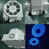 段階8X3w回転カラー効果LEDのロゴライト