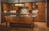 Armadi da cucina poco costosi di migliore disegno di vendita nuovo con il portello di legno