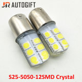 Automobile che designa le lampadine bianche 12SMD 5050 dell'automobile LED 1156 1157 lampadine d'inversione del LED