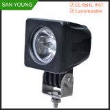 CREE 10W luz LED de trabajo para el motor del vehículo Los vehículos