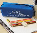 Ориентированный на заказчика выдвиженческий дешевый Zippered мешок карандаша канцелярских принадлежностей