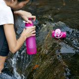 подгонянная 35oz ультра бутылка воды фильтрации 1L напольная