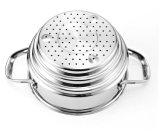 o Cookware clássico do aço 9-Piece inoxidável ajustou-se (CX-SS0903)