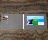 5.0inch LCD videogeschäfts-Einladungs-Broschüre