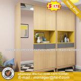 Office Mobiliário Comercial armário de arquivos de metal da porta de vidro (HX-8NR0645)
