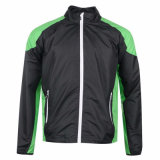 Контрастный цвет мужская водонепроницаемый длинной втулки высокого качества для использования вне помещений ветровку куртка