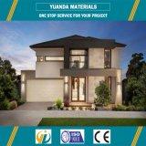 Casa modular de la familia del precio de la casa prefabricada del chalet buena