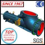 Bomba frente e verso química industrial horizontal do cotovelo do fluxo axial de aço inoxidável