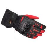 スポーツの手袋を競争させるFgv028lrdの冬のタッチ画面の防水防風のオートバイ