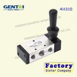 4h310 de pneumatische Klep van de Controle van de Controle van het Handvat van de Solenoïde van het Aluminium