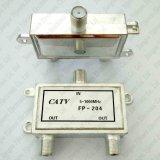 2 porta coassiale 1 del connettore del divisore F del segnale tv via cavo del divisore 5-1000MHz di modo in 2 fuori
