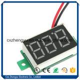 """Voltmetro del visualizzatore digitale di DC2.5-30.0V LED Di V18d 0.28 """" con due collegare"""