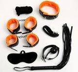 Kit de Ferramentas de Hot servidão quarto jogo adulto Produtos Sexo Sexo Swing Leopard Imprimir servidão Boca Gag Ball para 25