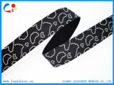 """1 """" courroie/sangle élevées larges de jacquard de polyester de ténacité de Colorized"""