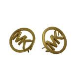 Подгонянные ювелирные изделия металла логоса плакировкой золота выгравированные лазером изготовленный на заказ маркируют Nameplate