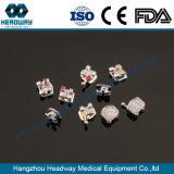 Ортодонтические скобы, Bondable кронштейна скобы с маркировкой CE FDA ISO
