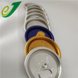 Fácil de abrir las tapas de latas de aluminio Tapas Pop Top 206