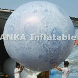 Раздувной воздушный шар гелия Сатурн луны земли