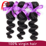 tecelagem humana do cabelo do Virgin da onda frouxa Mongolian da classe 7A