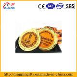 La medalla barata del metal de la fábrica con crea para requisitos particulares