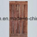 نمو أسلوب [بروون] لون خشبيّة [دووبل دوور] تصاميم ينزلق [برن دوور] [أمريكن] مع [برن دوور] جهاز