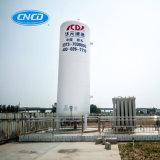 大きい容量の大きさの低温液化ガス窒素の貯蔵タンク