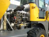 Finca de Ce nominal del motor de la UE 1000kg cargadora de ruedas con cuchara normal