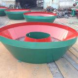 El Ce aprobó el molino mojado de la cacerola 1300 con buena calidad y eficacia alta