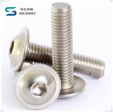 4.8-12.9 Grade DIN 933 HDG Boulon hexagonal en acier inoxydable et de l'écrou, boulon à tête hexagonale et écrou