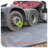 Le stuoie provvisorie della strada dell'HDPE hanno frantumato le stuoie della strada della costruzione delle stuoie di protezione