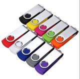 8 Go 16 Go 32 Go Métal USB 2.0 Swivel Flash Memory Stick Pen Drive Stockage Thumb U Disk