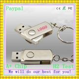 Promotionnel pivotant 32 Go 64 Go de mémoire USB Flash Drive USB de 4 Go Pendrive (GC-LT-001)