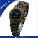 Het nieuwe Horloge van het Kwarts van de Dames van het Tijdvak van het Horloge van de Gift van de Stijl Promotie Houten