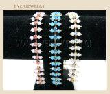 2016 색깔 진주를 가진 새로운 공상 사슬 모조 다이아몬드 컵 사슬