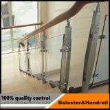 ステンレス鋼のガラス手すりの手すりの柵
